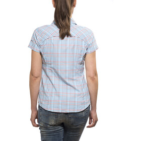 Columbia Silver Ridge Camisa Manga Corta Mujer, bluetime mini check plaid